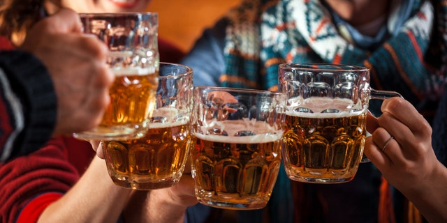 Sincealcohol is a vasodilator thatincreases warm blood flow in the skin, the findings suggested that people reach for booze when it's cold outside to keep toasty.