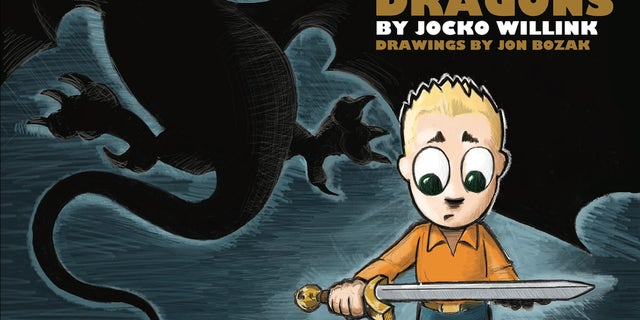 """Book cover: """"Mikey and the Dragons"""" by Jocko Willink"""