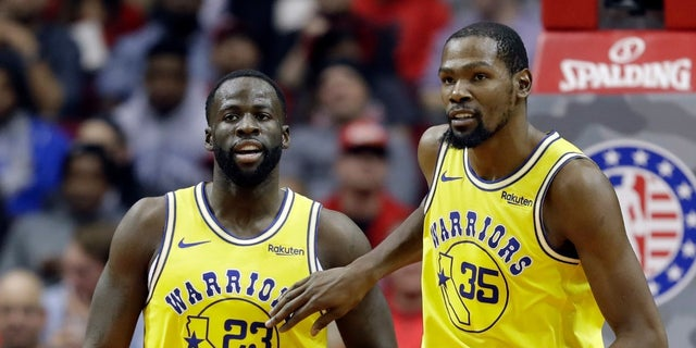 ef7bb3696f62 Kevin Durant and Draymond Green has an emotional dustup last week on the  court.