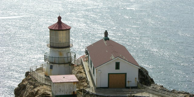 Construction workers found a time capsule hidden behind a wooden plank inside a wall of thePoint Reyes National Lighthouse in California in October 2018.