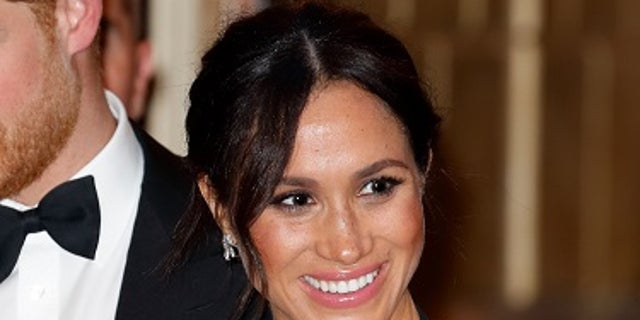 Meghan Markle attended the Royal Variety Performance on Monday, Nov. 19, 2018.