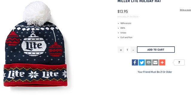 Beer lovers are sure to stay warm in the cold weather gear.