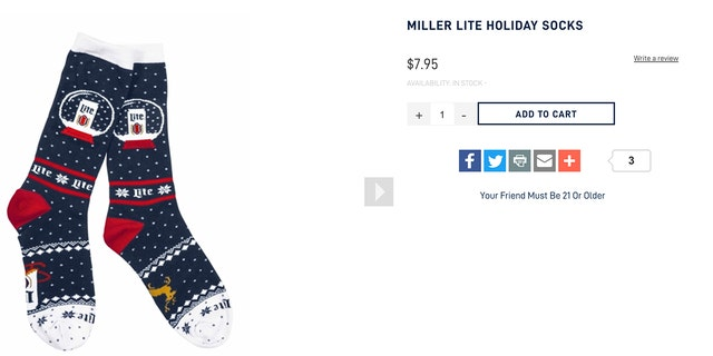 Miller Lite lovers and those shopping for gag gifts usually snatch the annual knitwear line up pretty quickly, so don't wait until it's too late to place an order if you want anything.