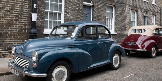 The Morris Minor was one of the best-selling British cars of all time.