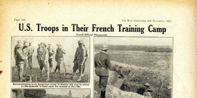 US servicemen can be seen roving to a U.K. and training in ditch crusade in a French countryside.