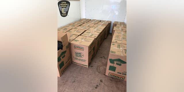 Officials said the marijuana was valued at $1.3 million.