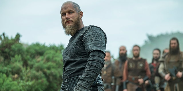Travis Fimmel as Ragnar Lothbrok. — History Channel