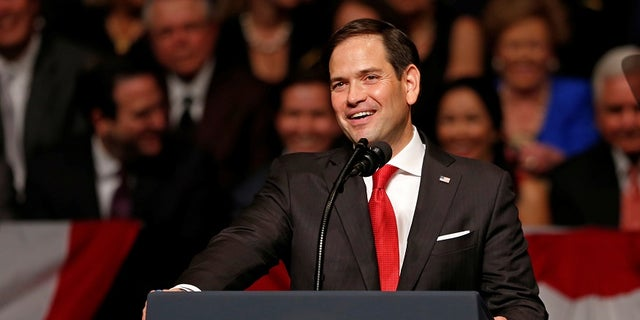 "During the 2016 presidential campaign, Trump would often refer to Sen. Marco Rubio, R-Fla., as ""Little Marco."""