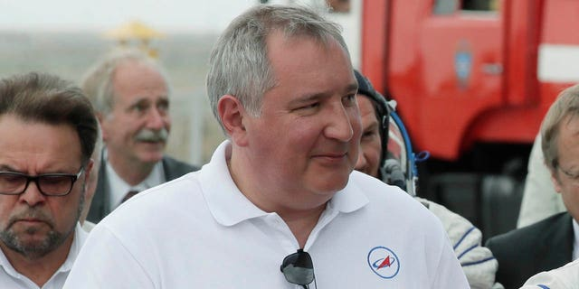 Roscosmos state space corporation head Dmitry Rogozin said in a video posted to Twitter on Saturday, Nov. 24, 2018, that a proposed Russian mission to the moon will be tasked with verifying that the American moon landings were real.