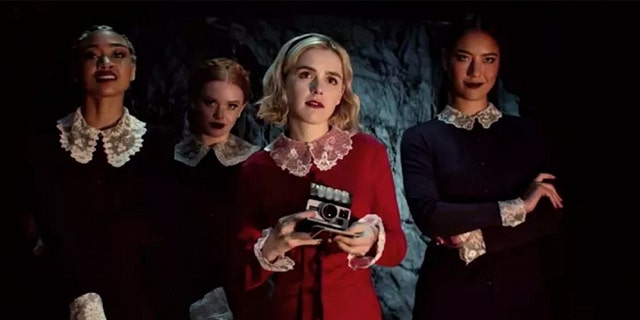 Chilling Adventures of Sabrina' underage orgy scene on