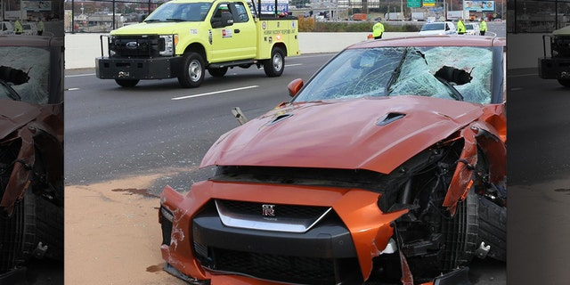 Joe Shelton Jr., 54, of Pleasant View, Tenn., was killed when a chunk of concrete went through the windshield of his Nissan GT-R sports car on I-24 near downtown Nashville Tuesday morning.