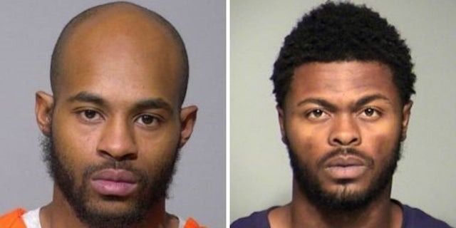 Isaac Barnes, 26, [left] and Untrell Oden, 27, [right] have been charged in connection with Sandra Parks' death.