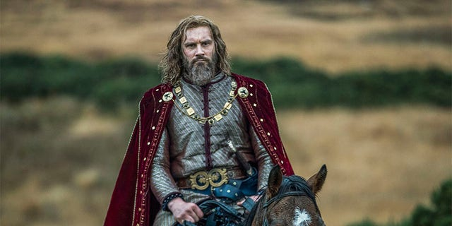 """Clive Standen as Rollo in """"Vikings."""""""