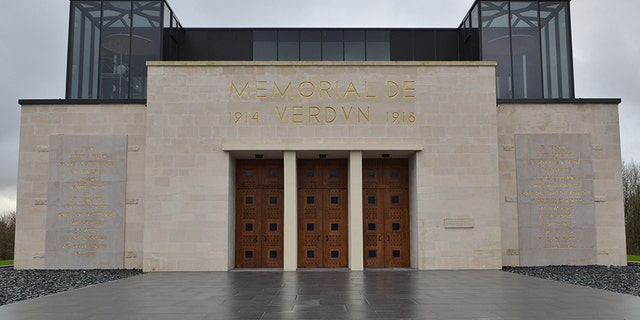 The key will be accepted today at the Verdun Memorial in France.