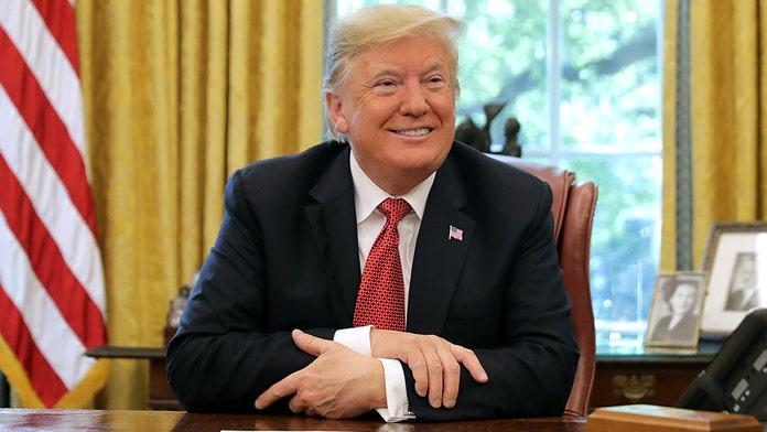 President Trump s closing argument  Vote Republican and continue the jobs  boom  b99b6208f87