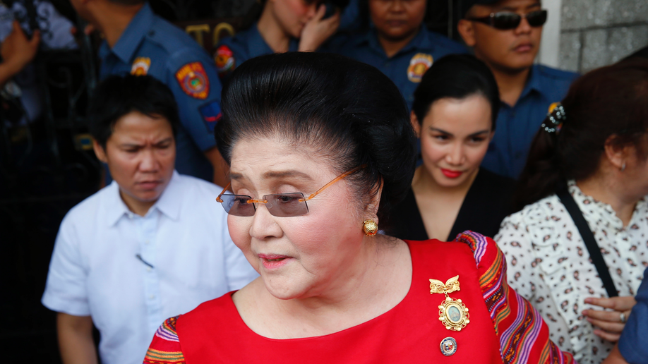 Philippines' Ex-First Lady Imelda Marcos Guilty of Graft