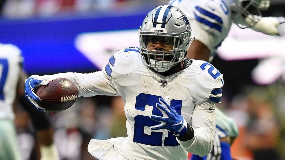 new products 02464 720d6 Dallas Cowboys' Ezekiel Elliott unhappy with Jerry Jones ...