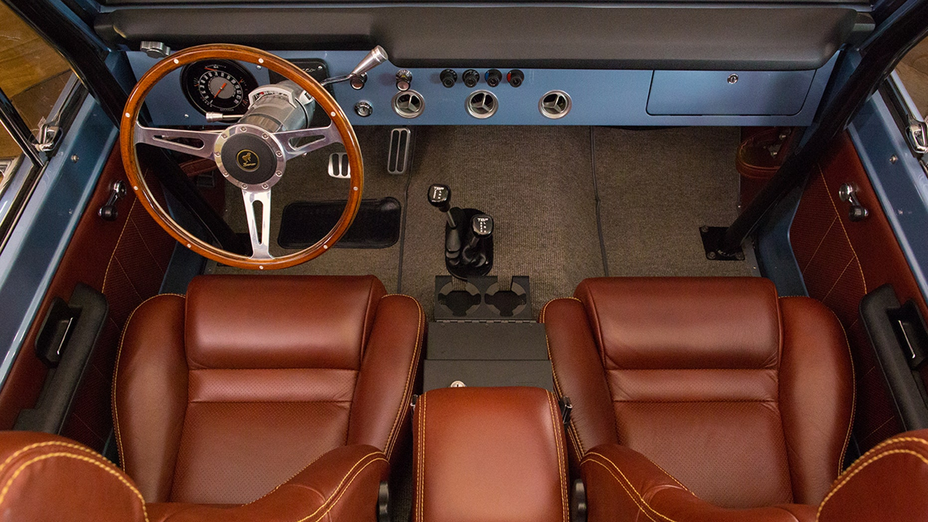 brand new classic ford broncos interior