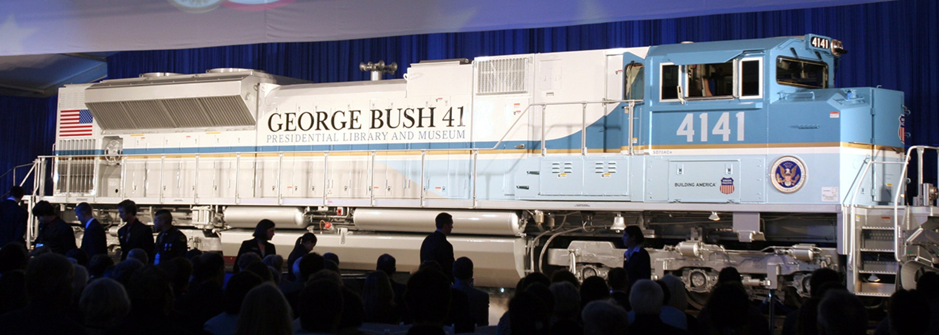 George H W Bush Will Be Taken To Final Resting Place On His Special