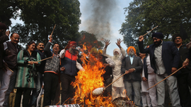 Onetime Indian politician convicted in 1984 anti-Sikh riots