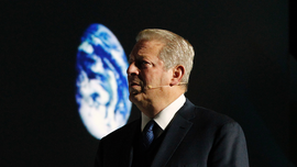 The Latest: Ex-VP Gore thinks Trump may help climate cause