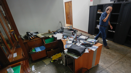 Nicaraguan police raid NGO offices, seize records