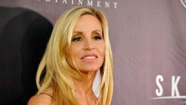 Camille Grammer retrieves items from Malibu home destroyed during California wildfires