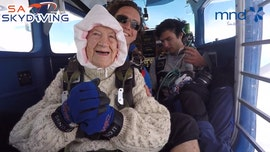 102-year-old woman sets record for oldest person to skydive: 'I'm just a normal person'