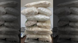 Massive haul of meth, cocaine, heroin seized at US-Mexico bridge