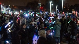 Community lights the night for hospitalized children in Michigan
