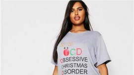 Online retailer removes 'Obsessive Christmas Disorder' pajamas following criticism for 'trivializing' OCD