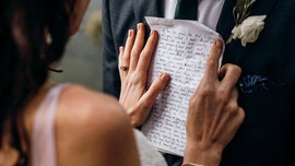 Bride reads groom letter she wrote to future husband before they ever met