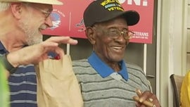 Nation's oldest living veteran, 112, expected to be released from hospital, family says