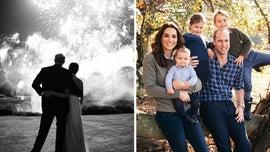 Meghan Markle, Prince Harry, Prince William and Kate Middleton debut Christmas card photos