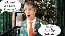 Holderness Family's modern take on 'Baby, It's Cold Outside' goes viral