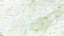 Earthquake, magnitude 4.4, rattles Tennessee, Georgia