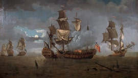Remains of US Revolutionary War frigate discovered off UK coast