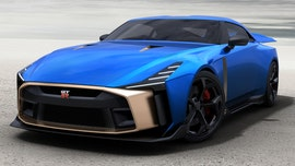 Special edition Nissan GT-R50 sports car looks like a million bucks...literally