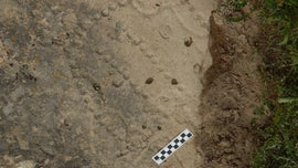 4,000-year-old game board carved into the Earth shows how Nomads had fun