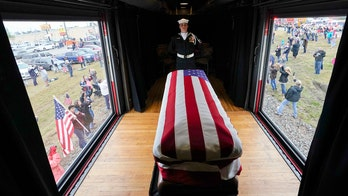 Media use coverage of Bush funeral to criticize Trump