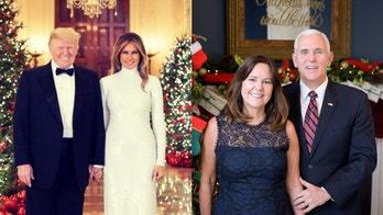 President Trump and Melania, Pence family, unveil official Christmas portraits