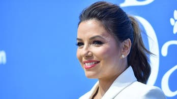 Eva Longoria, 45, strikes flexible yoga pose in a swimsuit at the beach: 'Zen state of mind'