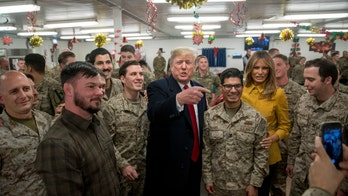 President Trump, first lady back in Washington after surprise visit to US troops in Iraq