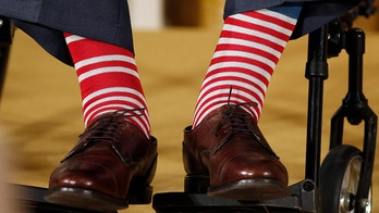 George H.W. Bush's love of quirky socks: An unlikely fashion icon