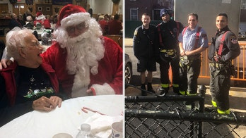 Fire department gives woman, 104, a holiday helping hand