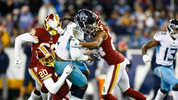 Josh Norman, Taylor Lewan get into altercation after Tennessee Titans win over Washington Redskins