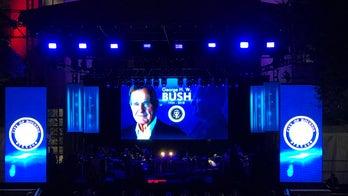 George H.W. Bush remembered in public memorial tribute in Houston