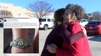 Woman reunited with ring she lost in J.C. Penney parking lot: 'God works in mysterious ways'
