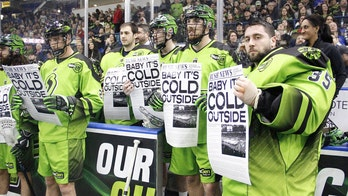 Defending champion lacrosse team sings 'Baby, It's Cold Outside' despite song's controversy