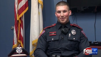 Cop saves man from frigid waters: 'God definitely put me there for a reason'